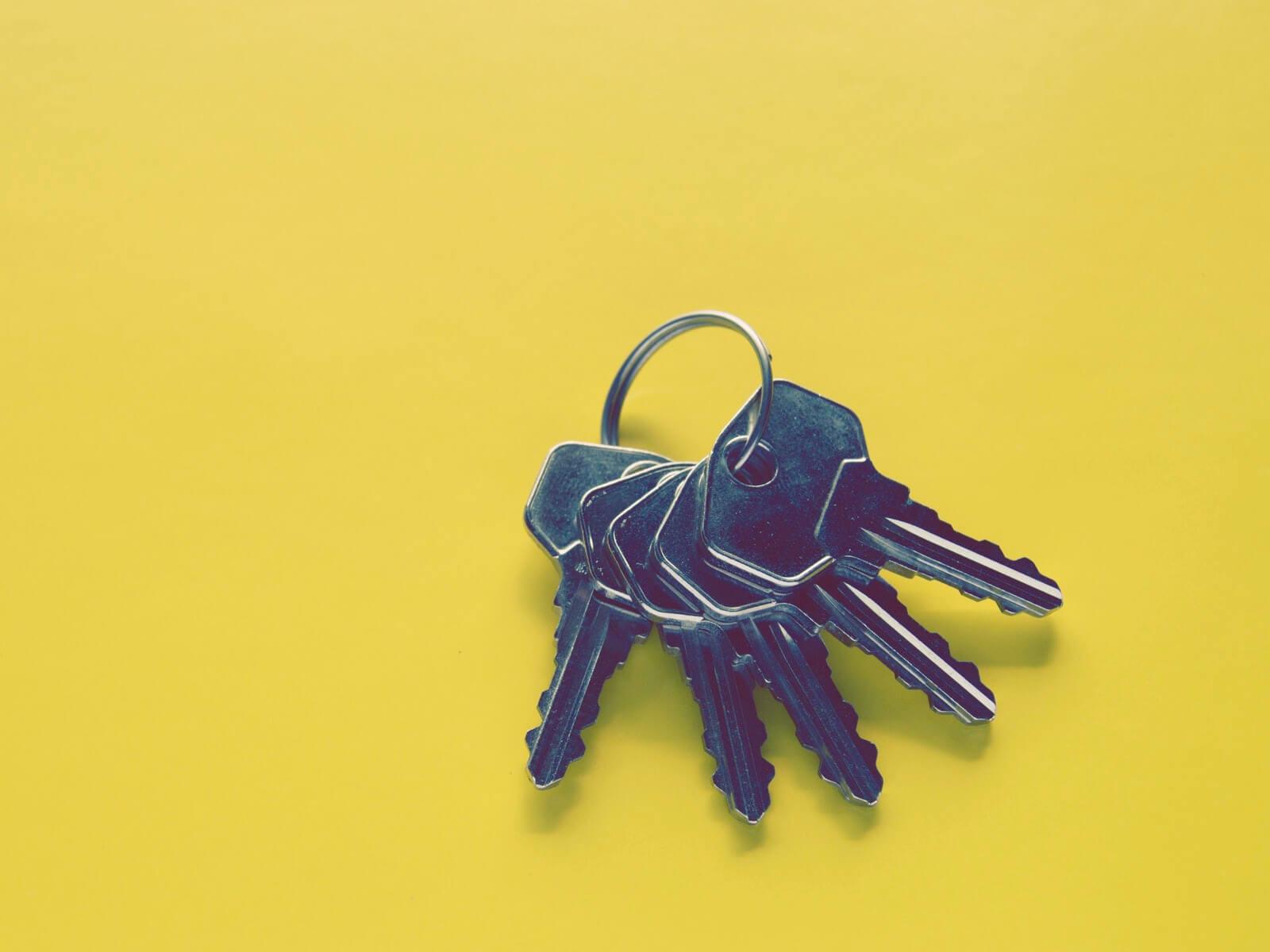 家の中で鍵をなくさない方法