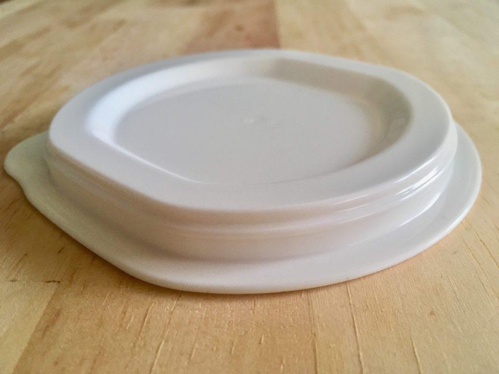イオンの冷凍ご飯タッパーHOME COORDY そのままレンジ保存容器ご飯一膳用の溝のない蓋